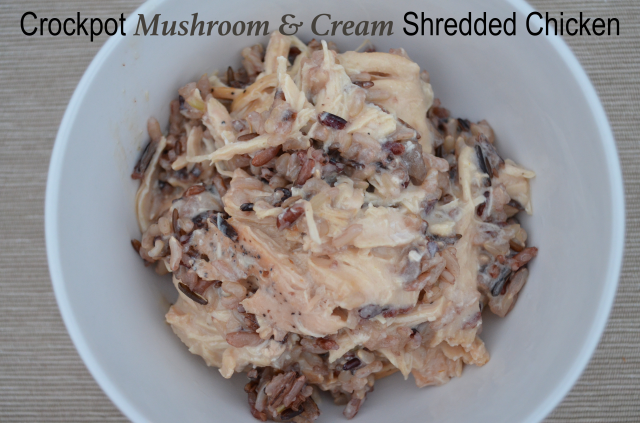 PS Crockpot Mushroom & Cream Shredded Chicken 2