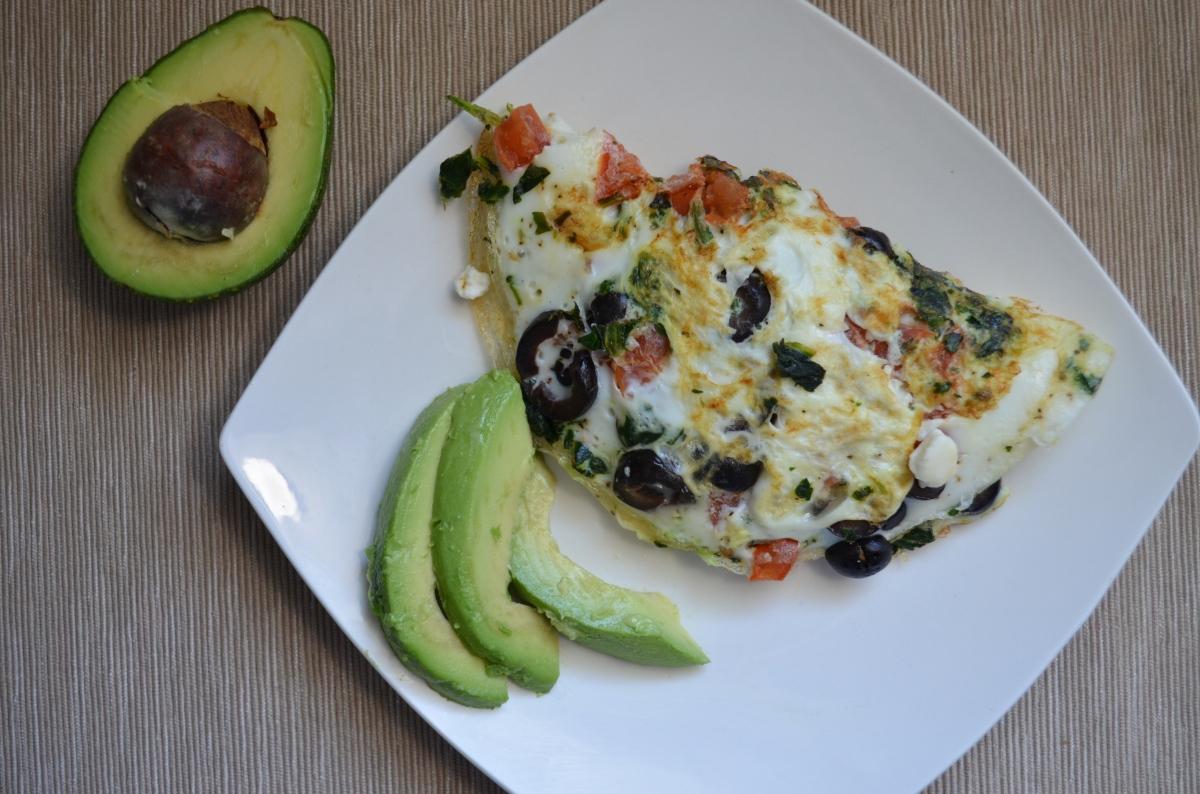 Mediterranean Egg White Omelette